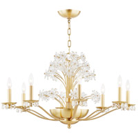 Hudson Valley 4438-AGB Beaumont 10 Light 38 inch Aged Brass Chandelier Ceiling Light