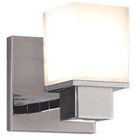 Hudson Valley 4441-SN Milford 1 Light 5 inch Satin Nickel Bath And Vanity Wall Light