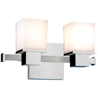 Milford 2 Light 12 inch Polished Chrome Bath And Vanity Wall Light