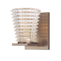Conway 1 Light 4 inch Brushed Bronze Bath And Vanity Wall Light