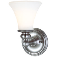 Hudson Valley 4501-PN Weston 1 Light 6 inch Polished Nickel Bath And Vanity Wall Light