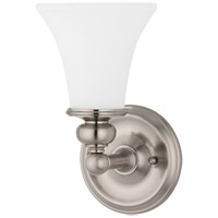 Weston 1 Light 6 inch Satin Nickel Bath And Vanity Wall Light