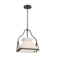 Clifton 1 Light 12 inch Old Bronze Pendant Ceiling Light