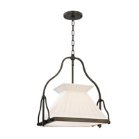 Clifton 1 Light 16 inch Old Bronze Chandelier Ceiling Light