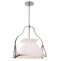 Hudson Valley Lighting Clifton 1 Light Chandelier in Polished Nickel 4518-PN