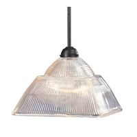 Hudson Valley Lighting Majestic Square 1 Light Pendant in Old Bronze 4520-OB photo thumbnail