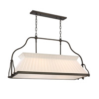 Clifton 4 Light 40 inch Old Bronze Island Light Ceiling Light