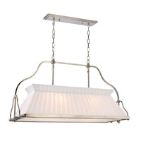 Clifton 4 Light 40 inch Polished Nickel Island Light Ceiling Light