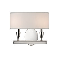 Bancroft 2 Light 13 inch Polished Nickel Wall Sconce Wall Light