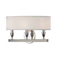 Hudson Valley Lighting Bancroft 3 Light Wall Sconce in Polished Nickel 4543-PN