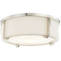 Hudson Valley 4616-PN Talon 3 Light 16 inch Polished Nickel Flush Mount Ceiling Light