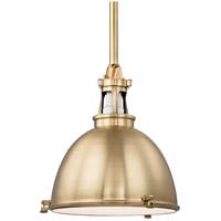 Hudson Valley 4620-AGB Massena 1 Light 20 inch Aged Brass Pendant Ceiling Light
