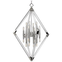 Lyons 16 Light 31 inch Polished Nickel Pendant Ceiling Light
