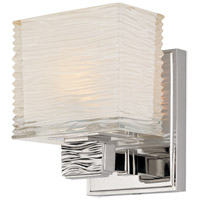 Hudson Valley 4661-PN Hartsdale 1 Light 5 inch Polished Nickel Bath And Vanity Wall Light