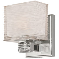 Hartsdale 1 Light 5 inch Satin Nickel Bath And Vanity Wall Light