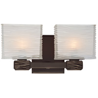 Hartsdale 2 Light 12 inch Old Bronze Bath And Vanity Wall Light