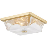 Hudson Valley 4710-AGB Hines 3 Light 13 inch Aged Brass Flush Mount Ceiling Light
