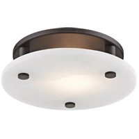 Croton LED 12 inch Old Bronze Flush Mount Ceiling Light