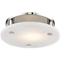 Croton LED 12 inch Polished Nickel Flush Mount Ceiling Light