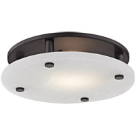 Croton LED 15 inch Old Bronze Flush Mount Ceiling Light, Large