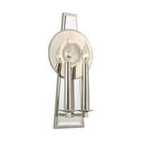 Hudson Valley Lighting Barker 2 Light Wall Sconce in Polished Nickel 472-PN photo thumbnail