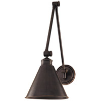 Exeter 1 Light Old Bronze Wall Sconce Wall Light