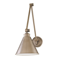 Hudson Valley 4721-PN Exeter 1 Light Polished Nickel Wall Sconce Wall Light