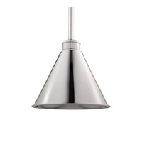Hudson Valley Lighting Exeter 1 Light Pendant in Polished Nickel 4722-PN