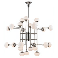 Fleming LED 46 inch Polished Nickel Chandelier Ceiling Light