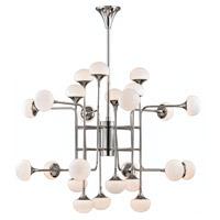 Hudson Valley 4724-PN Fleming LED 46 inch Polished Nickel Chandelier Ceiling Light