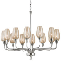 Hudson Valley Lighting Longmont 14 Light Chandelier in Polished Nickel 4733-PN