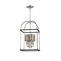Vestal 4 Light 14 inch Polished Nickel Pendant Ceiling Light