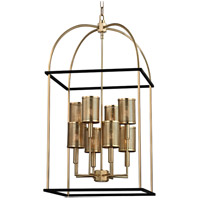 Vestal 8 Light 19 inch Aged Brass Pendant Ceiling Light