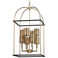 Hudson Valley 4819-AGB Vestal 8 Light 19 inch Aged Brass Pendant Ceiling Light