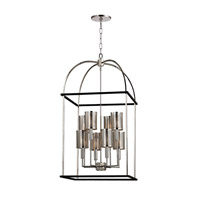 Hudson Valley Lighting Vestal 8 Light Pendant in Polished Nickel 4819-PN