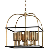 Vestal 8 Light 21 inch Aged Brass Pendant Ceiling Light
