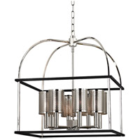 Vestal 8 Light 21 inch Polished Nickel Pendant Ceiling Light