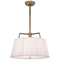 Humphrey 4 Light 24 inch Aged Brass Pendant Ceiling Light