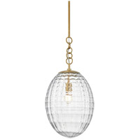 Hudson Valley 4912-AGB Venice 1 Light 12 inch Aged Brass Pendant Ceiling Light