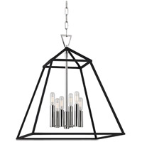 Hudson Valley Lighting Webster 6 Light Pendant in Polished Nickel 4919-PN