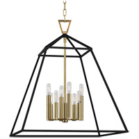 Webster 8 Light 24 inch Aged Brass Pendant Ceiling Light
