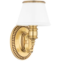Hudson Valley 4941-FB Richmond 1 Light 6 inch Flemish Brass Bath And Vanity Wall Light