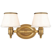 Hudson Valley 4942-FB Richmond 2 Light 15 inch Flemish Brass Bath And Vanity Wall Light