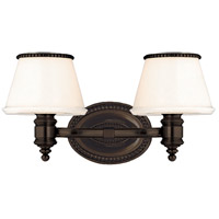 Richmond 2 Light 15 inch Old Bronze Bath And Vanity Wall Light