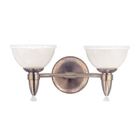Hudson Valley Lighting Bloomfield 2 Light Bath And Vanity in Brushed Bronze 4992-BB
