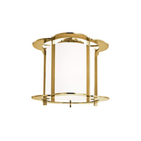 Hudson Valley Lighting Warwick 5 Light Semi Flush in Aged Brass 500-AGB