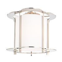 Hudson Valley Lighting Warwick 5 Light Semi Flush in Polished Nickel 500-PN