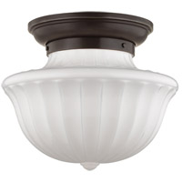 Dutchess 2 Light 15 inch Old Bronze Flush Mount Ceiling Light
