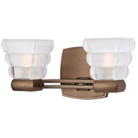 Hudson Valley Lighting Warren 2 Light Bath Vanity in Brushed Bronze 5042-BB