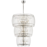 Freeze 24 Light 30 inch Polished Nickel Pendant Ceiling Light